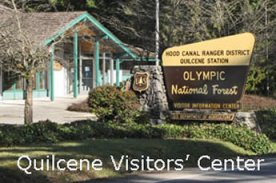East Olympic Visitor's Center in Quilcene