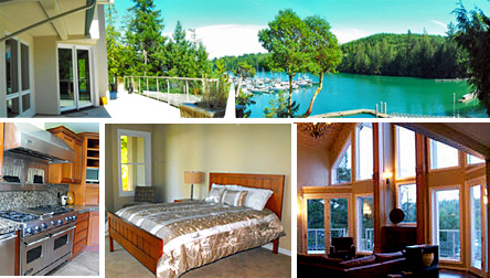 Pleasant Harbor Vacation Rental House and B&B